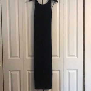 Vintage velvet long dress
